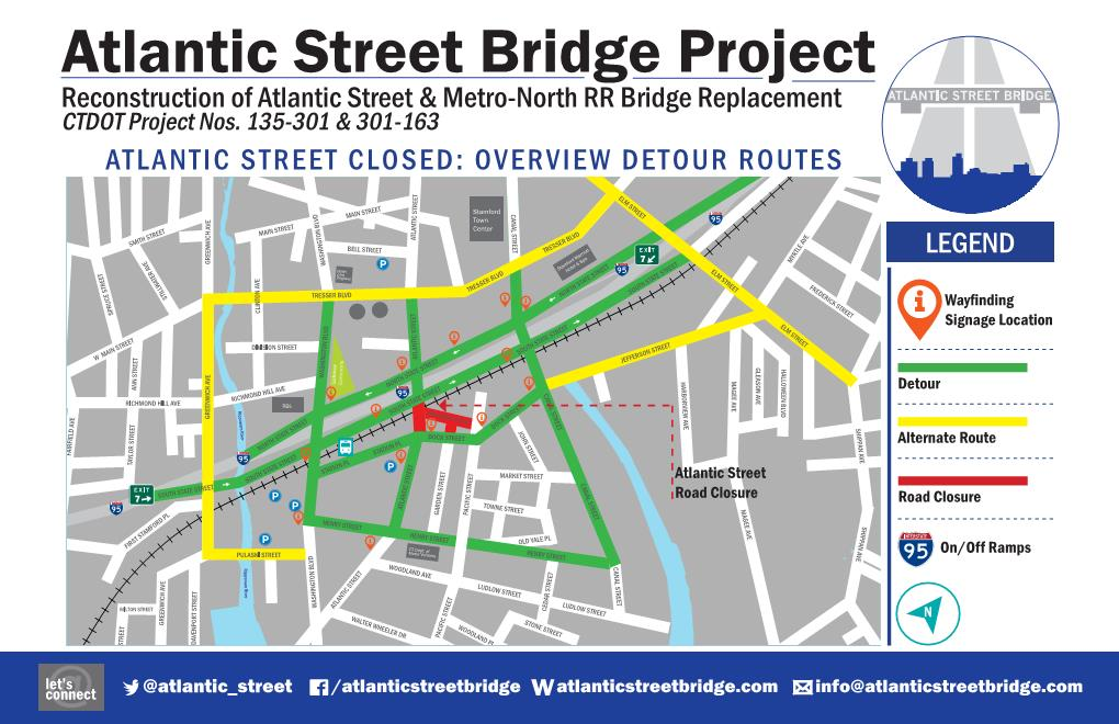 Atlantic Street Underpass Temporarily Closing on February 19, 2019