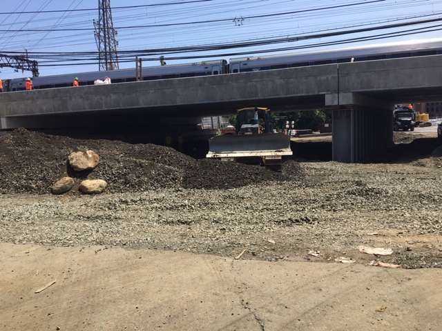 Atlantic Street Roadway Improvements Continue Under New Metro North/Atlantic Street Bridge