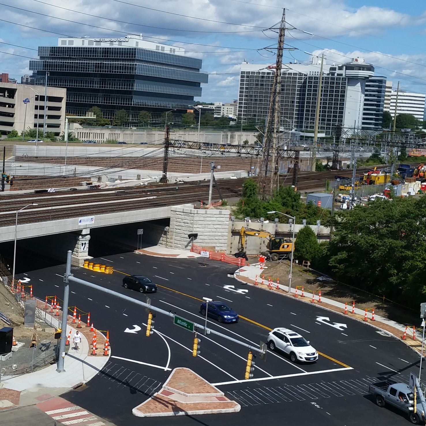 Atlantic Street Officially Re-Opened  Under New Metro North/Atlantic Street Bridge; Bridge and Roadway Improvements Completed On Time With Minimal Impacts to Traveling Public